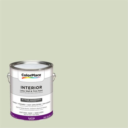 ColorPlace, Interior Paint, Iced Green Grape, #10GY 67/123