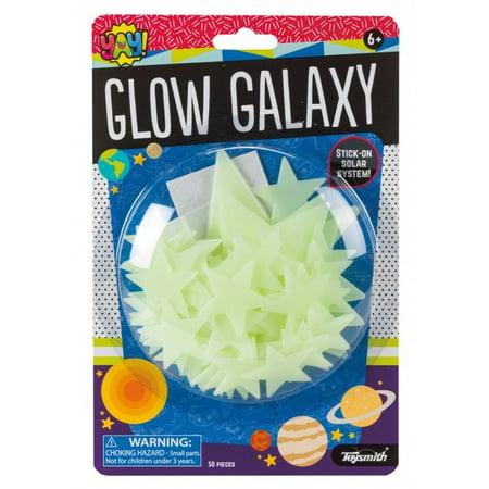 Glow Galaxy Glow in the Dark Stars - Novelty Toy by Toysmith