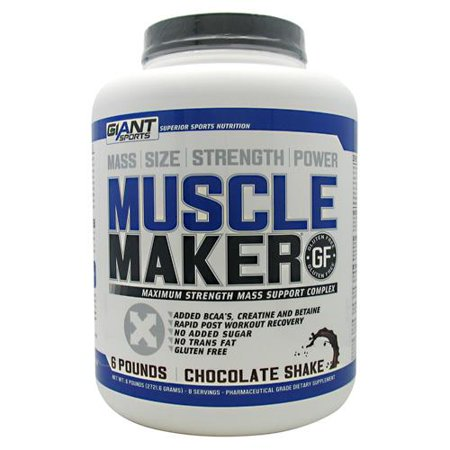 Sport géant Maker Muscle, Chocolat, 6 Pound