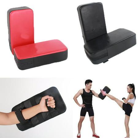 Bestller 2Pcs Taekwondo Kick Pads Boxing Karate Pad PU Leather Muay Thai MMA Training Kickboxing Pads ()