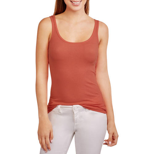 Faded Glory Women's Essential Cotton Rib Tank