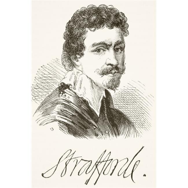 Posterazzi DPI1856260LARGE Sir Thomas Wentworth 1St Earl of Strafford 1593 1641 Baron of Raby Aka Sir Thomas Wentworth Baron of Newmarch Poster Print, Large - 24 x 36 - image 1 de 1