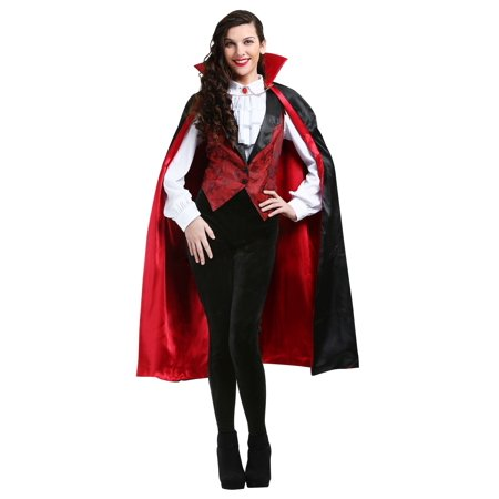 Women's Fierce Vamp Costume (Victorian Vamp)