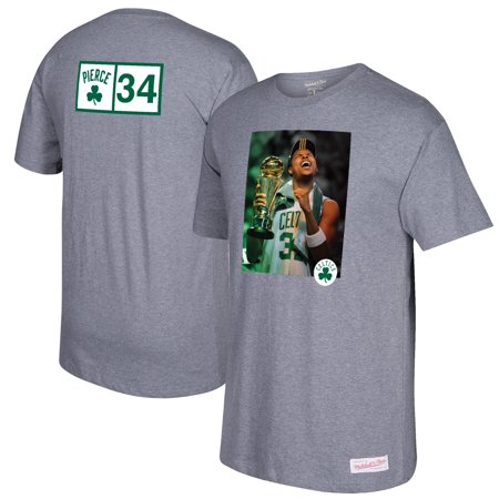 huge selection of 337e1 3bd50 Paul Pierce Boston Celtics Mitchell & Ness Graphic T-Shirt - Gray