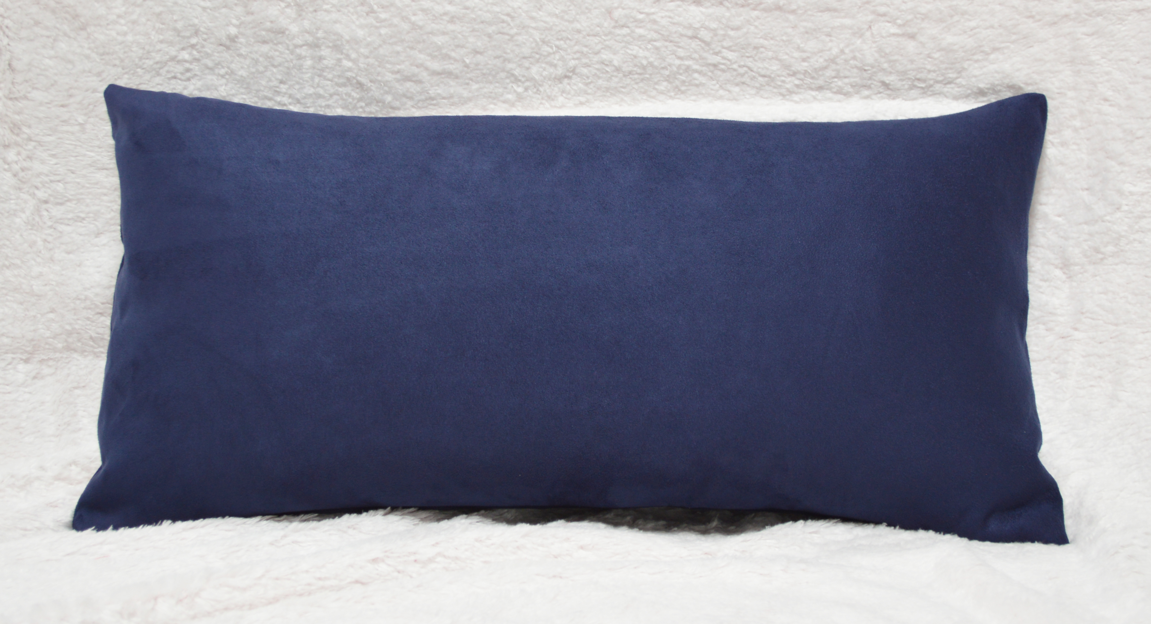Click here to buy Aiking Home�Luxury Faux Suede Body Pillow Cover with Hidden Zipper 20 By 54, Navy by Aiking Home Collection.