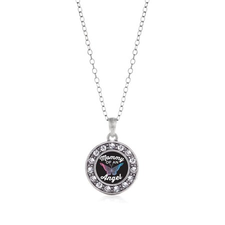 Mommy Of An Angel Circle Charm Necklace