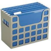 Pendaflex Plastic Desktop Letter Hanging File, Putty, 1 Each (Quantity)