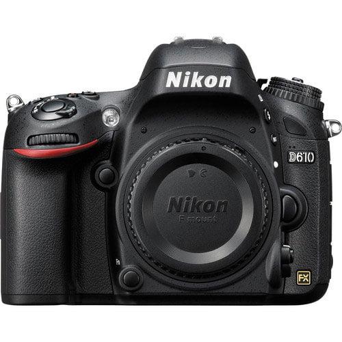 Nikon D610 Digital Camera Body