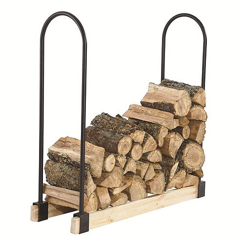Pleasant Hearth Adjustable Log Rack by GHP Group, Inc.