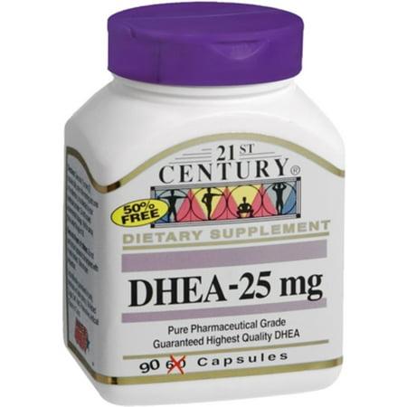 21st Century DHEA-25 mg Capsules 21st Century Healthy