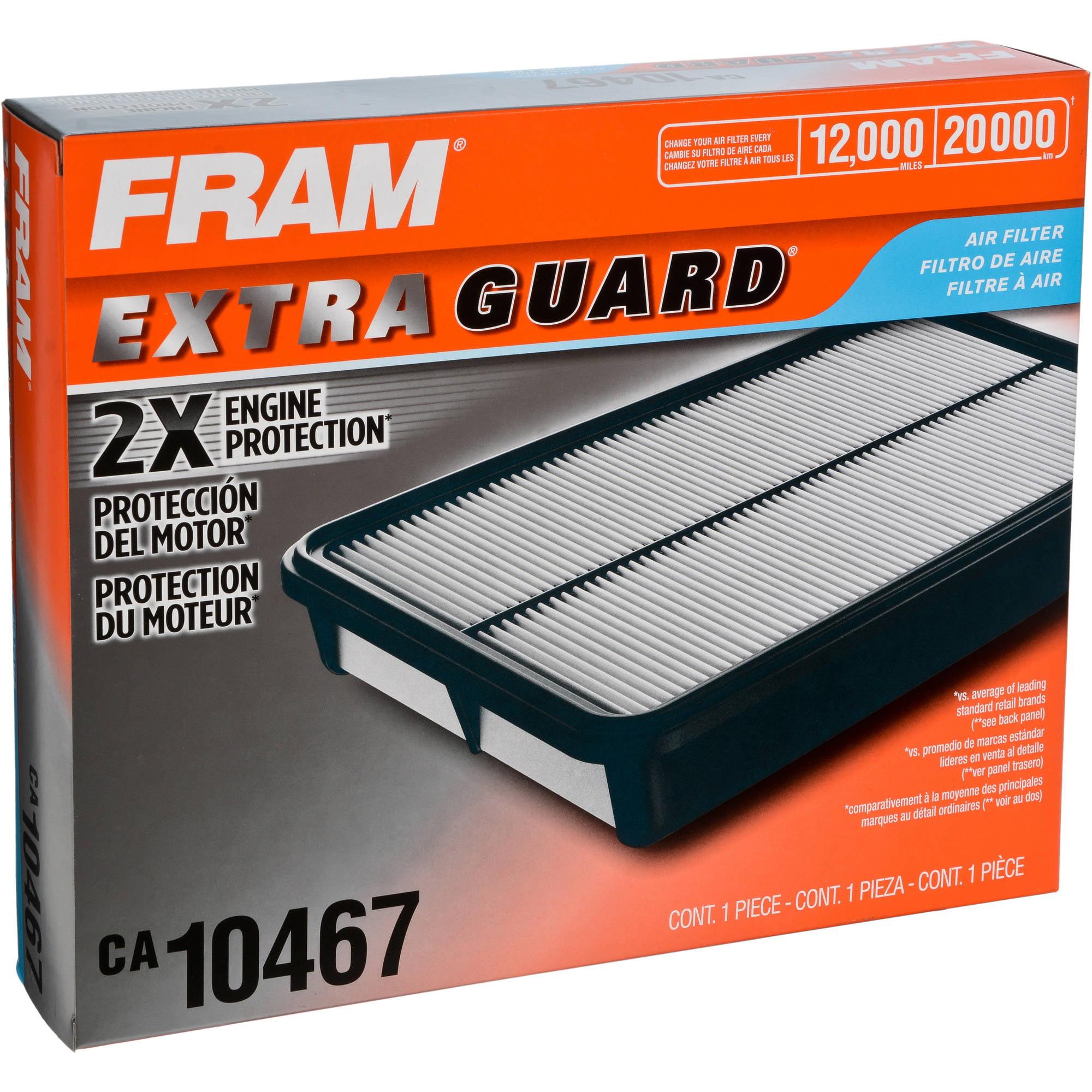 FRAM Extra Guard Air Filter, CA10467