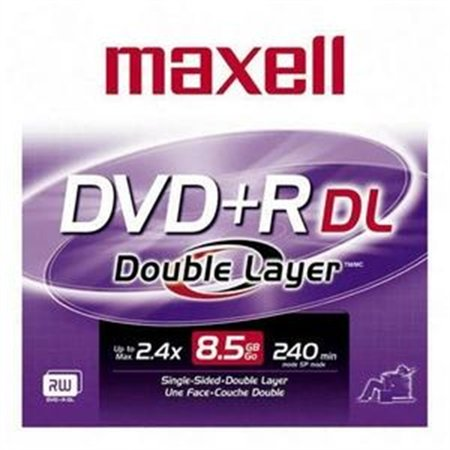 Maxell 2.4x DVD+R Double Layer Media 634080