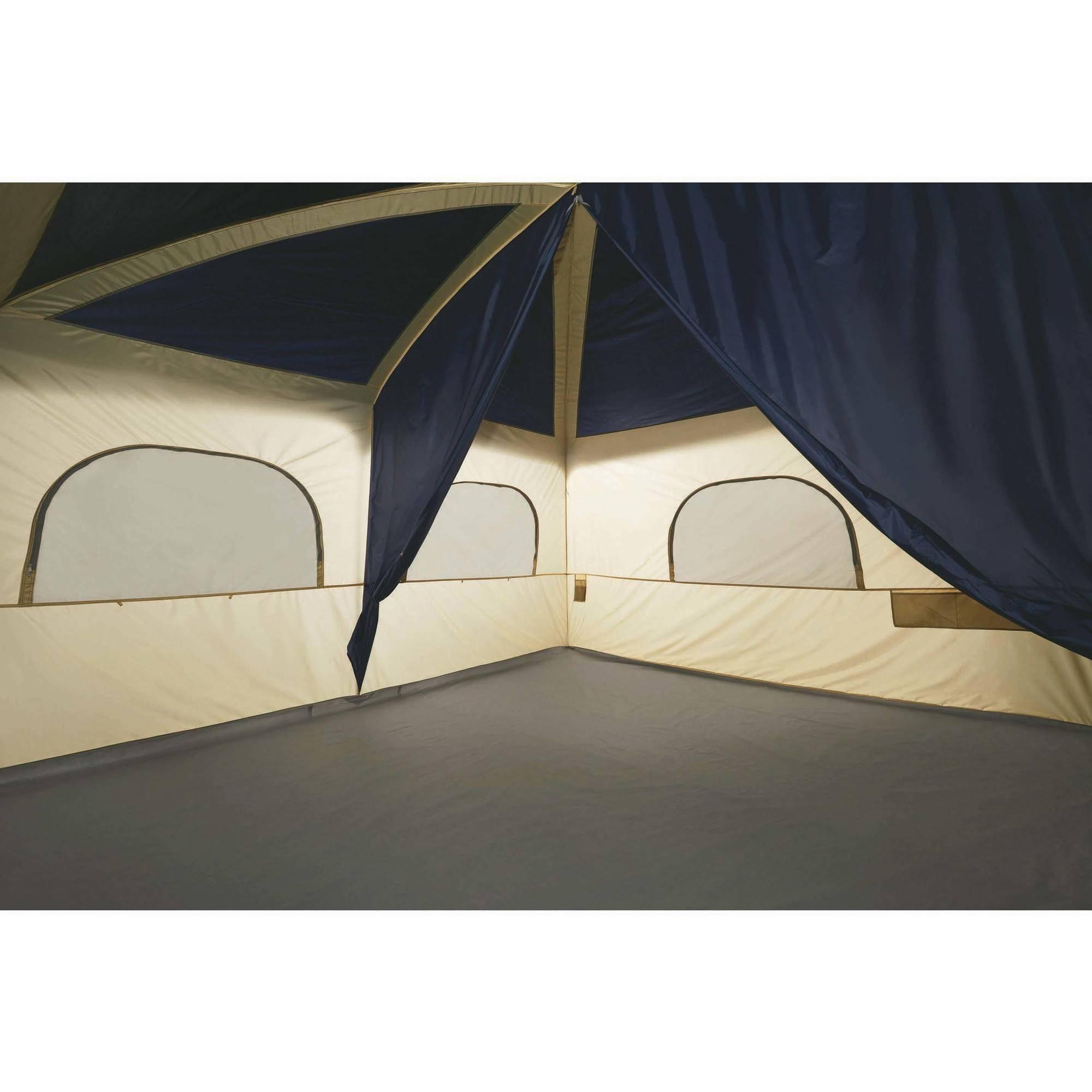 Ozark Trail 12 Person Cabin Tent With Screen Porch Ebay