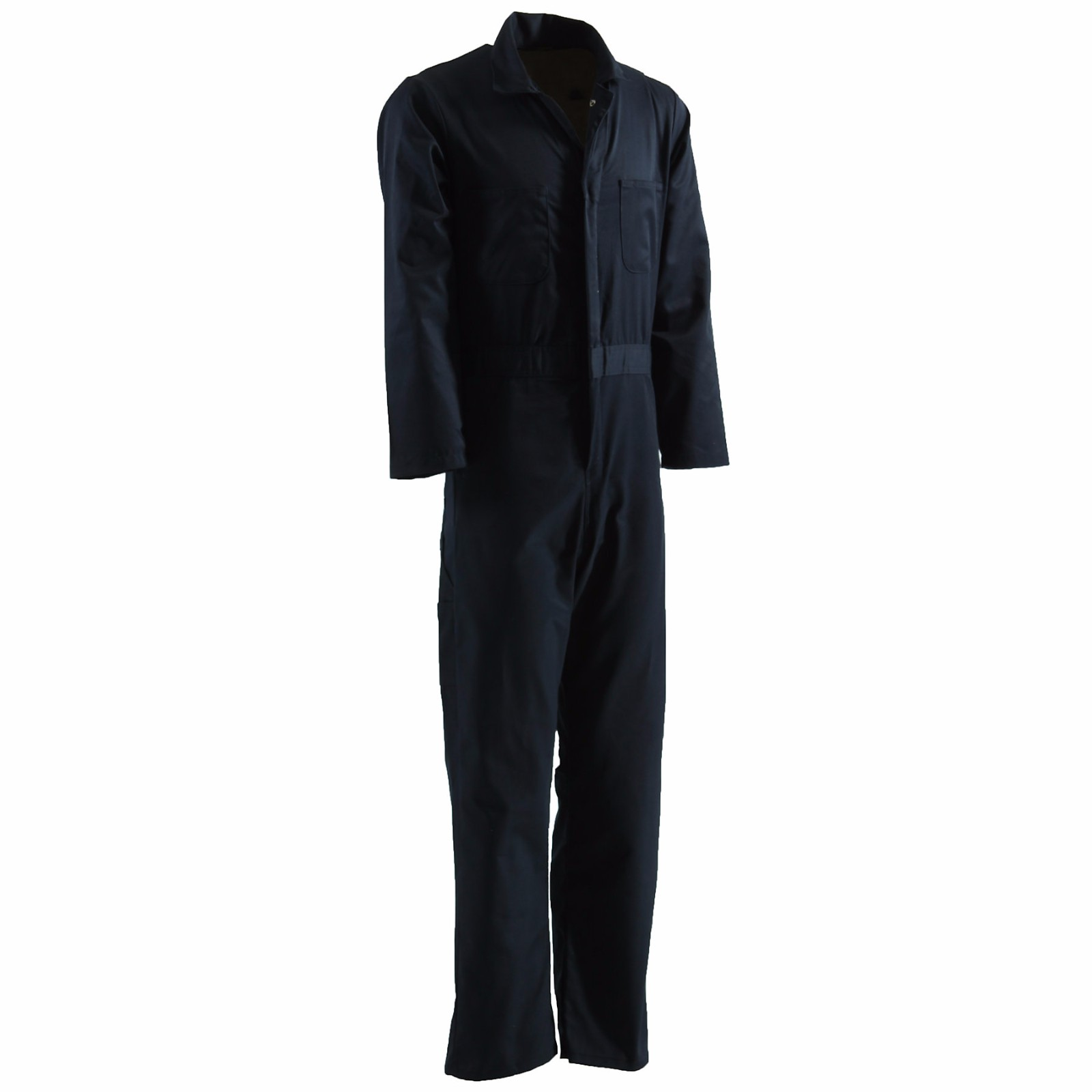 Berne Standard Unlined Coverall Size 2XLR 54R Regular (Navy) by Berne