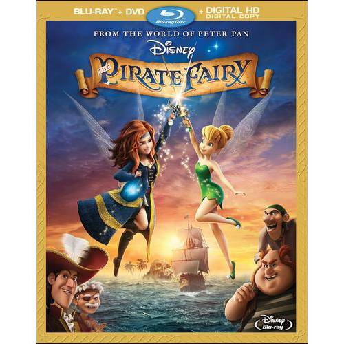 The Pirate Fairy (Blu-ray + DVD + Digital HD) (Widescreen)