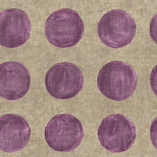 Blue Mountain Solar Wallcovering, Gray/Purple