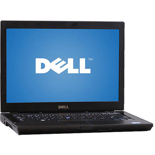 Refurbished Dell Black E6410 Laptop PC with Intel Core i5 Processor, 4GB Memory, 500GB Hard Drive and Windows 7 Professional