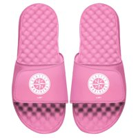 Seattle Mariners ISlide Youth Primary Logo Slide Sandals - Pink