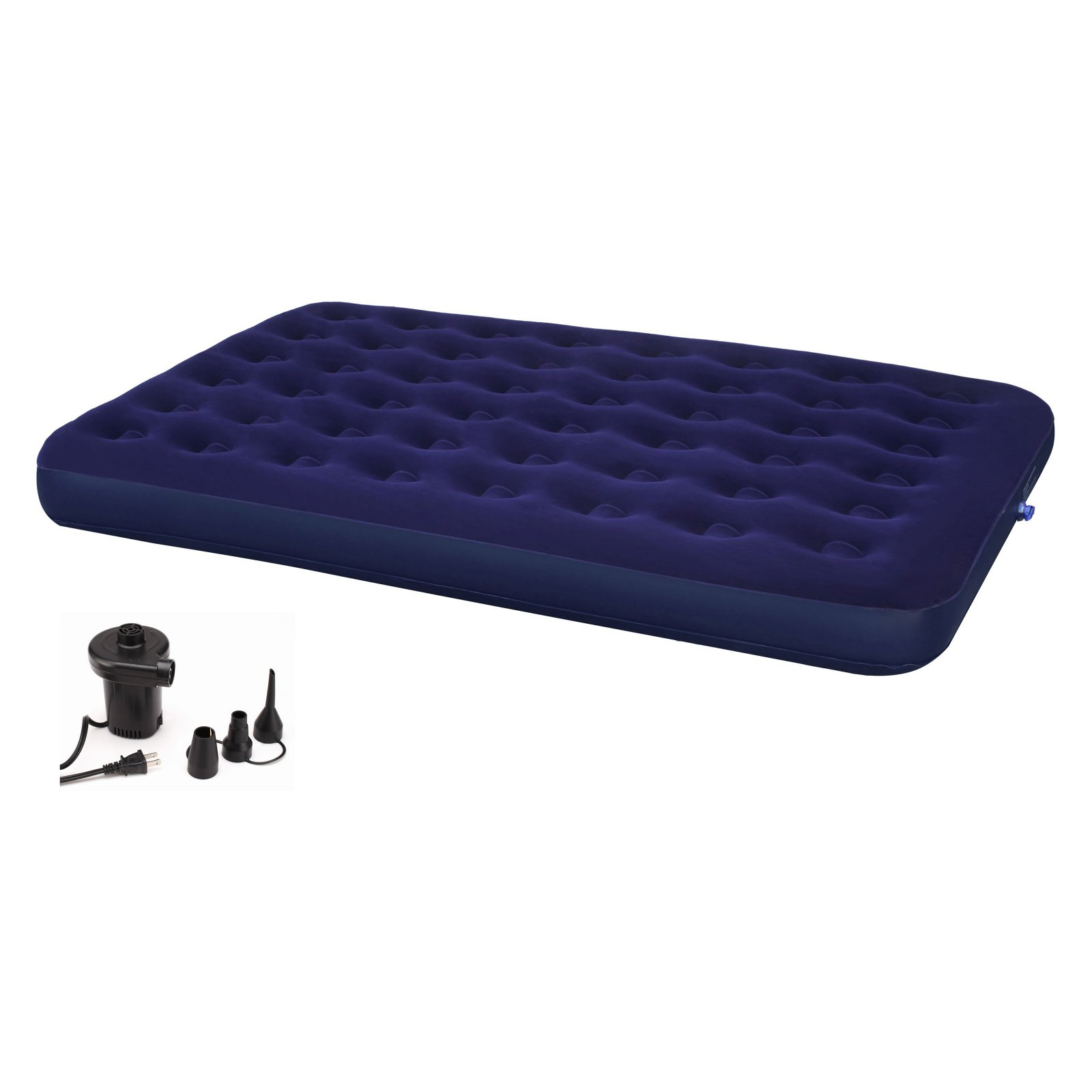 Click here to buy Second Avenue Collection Queen Air Mattress with Electric Air Pump by Achim Importing Co.
