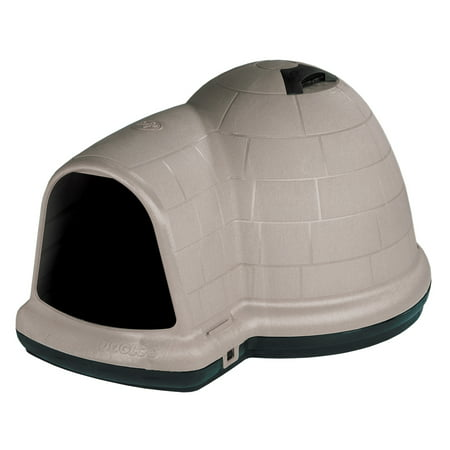 Dog House Blind - Petmate Indigo Dog house W/Microban, 50-90Lbs