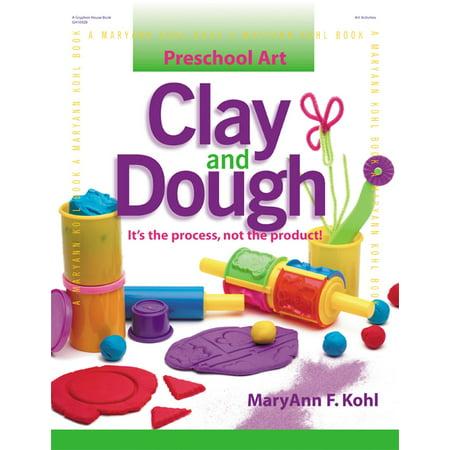 Preschool Art Craft Halloween (Preschool Art: Clay and Dough: It's the Process, Not the Product!)