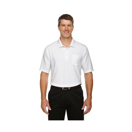 Men's DRYTEC Performance Pocket Polo Shirt, Style DG150P Blue Drytec Performance Polo