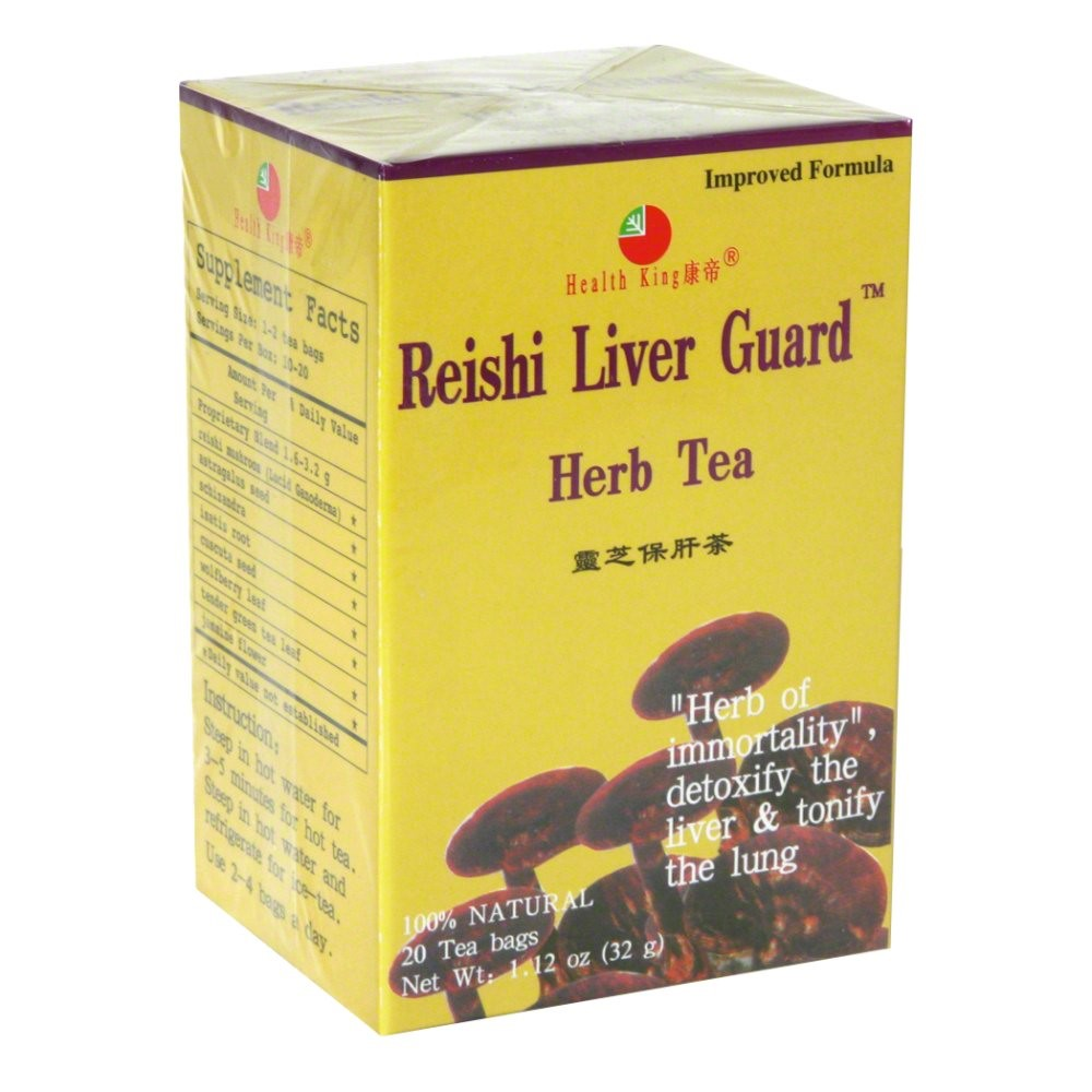 Health King Reishi Liver Guard Herb Tea, 20 Ct