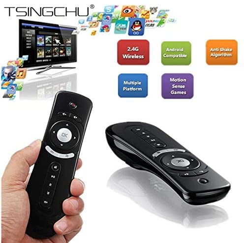 2.4GHz Fly Air Mouse Remote Control Wireless 3D Gyro Motion Stick For 3D Sense Game PC Android TV Box Google TV Smart TV