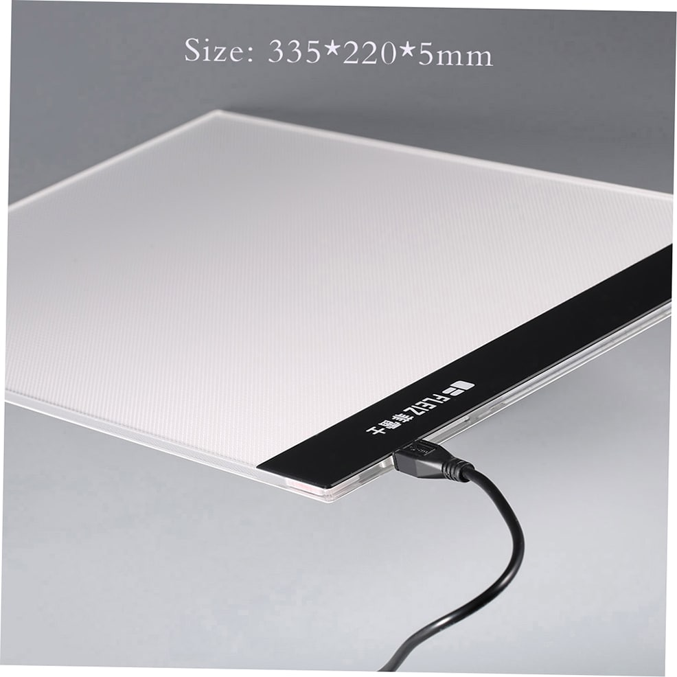 A4 LED Light Stencil Art Board Drawing Table USB Interface Drawing Board by Overstock