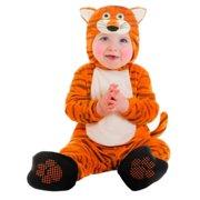 Goodmark Infant Boys & Girls Tiger Costume Plush Orange Baby Cat Suit