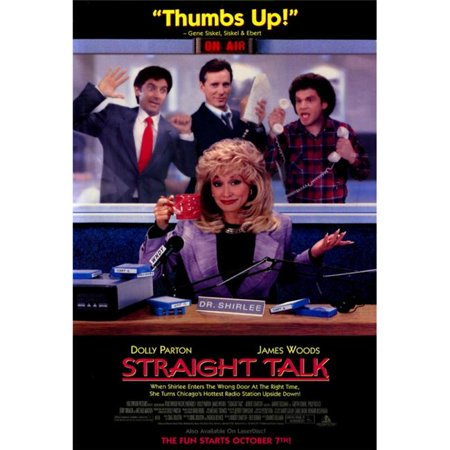 Posterazzi MOVGF6428 Straight Talk Movie Poster - 27 x 40 in. - image 1 of 1