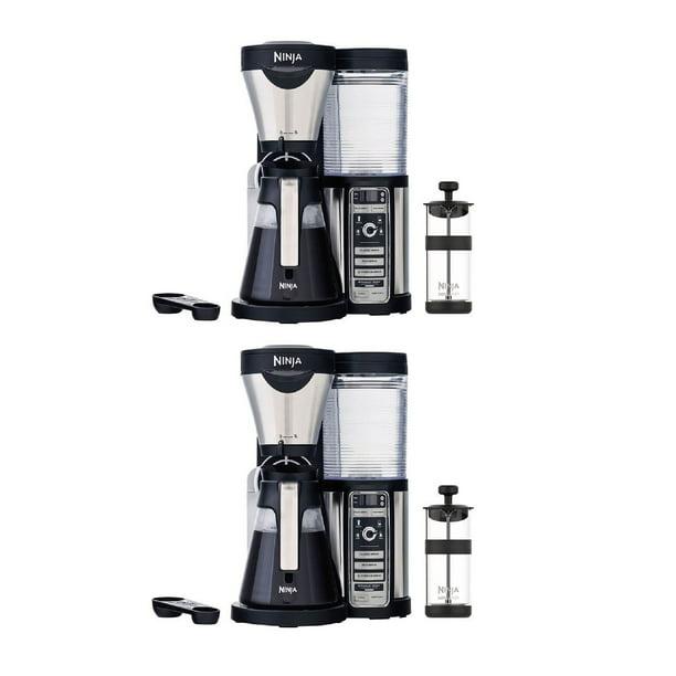 Ninja Coffee Bar Brewer Maker with Glass Carafe (Certified Refurbished) (2 Pack) - Walmart.com ...