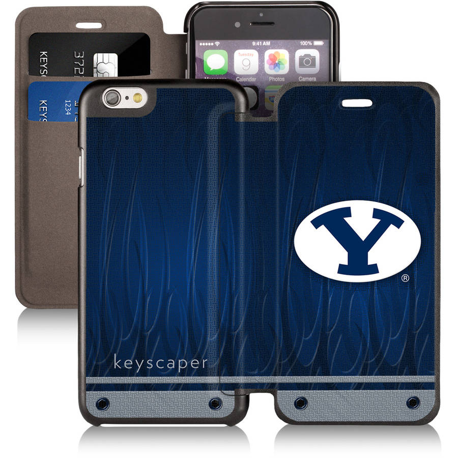 Brigham Young Cougars Apple iPhone 6 Wallet Case by Keyscaper