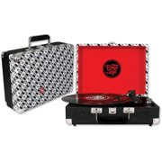 Vinyl Styl Groove Portable Turntable, Records