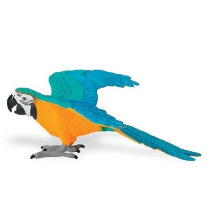 Safari Ltd Wings of the World Blue and Gold Macaw