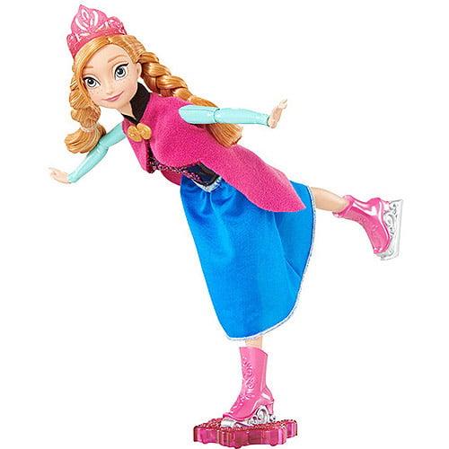 Disney Frozen Skating Anna Doll by Mattel