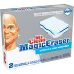 Mr. Clean Magic Eraser Kitchen Scrubbers, 2ct