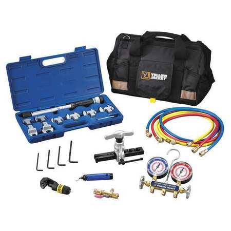 Mini-Split Tool Kit,2-Valve YELLOW JACKET 60991