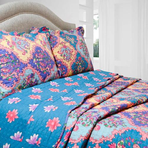 Pegasus Home Fashions Vintage Isabella Quilt Set