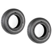 2-Pk Goodyear Endurance Trailer Tire ST205/75R14 LRD 2040 Lb. 65PSI OD-26.14