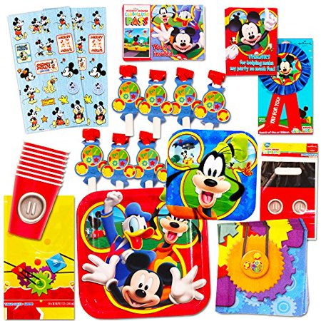 Mickey Mouse Party Supplies Ultimate Set 95 Pieces Favors Birthday