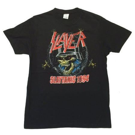 - Slayer Slaytanic 1994 Black T Shirt