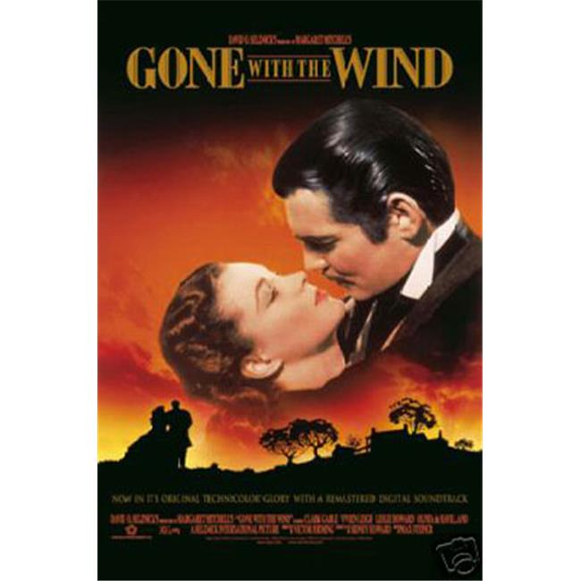 Hot Stuff Enterprise 4461-12x18-LM Gone with The Wind Poster