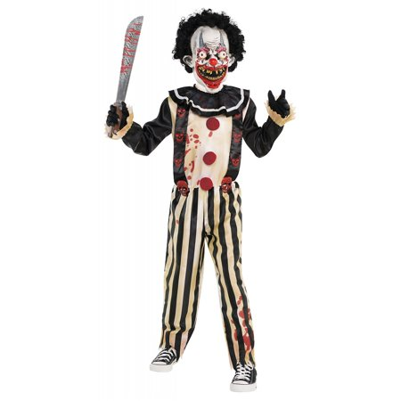 Sew It Yourself Halloween Costumes (Slasher Clown Child Costume -)