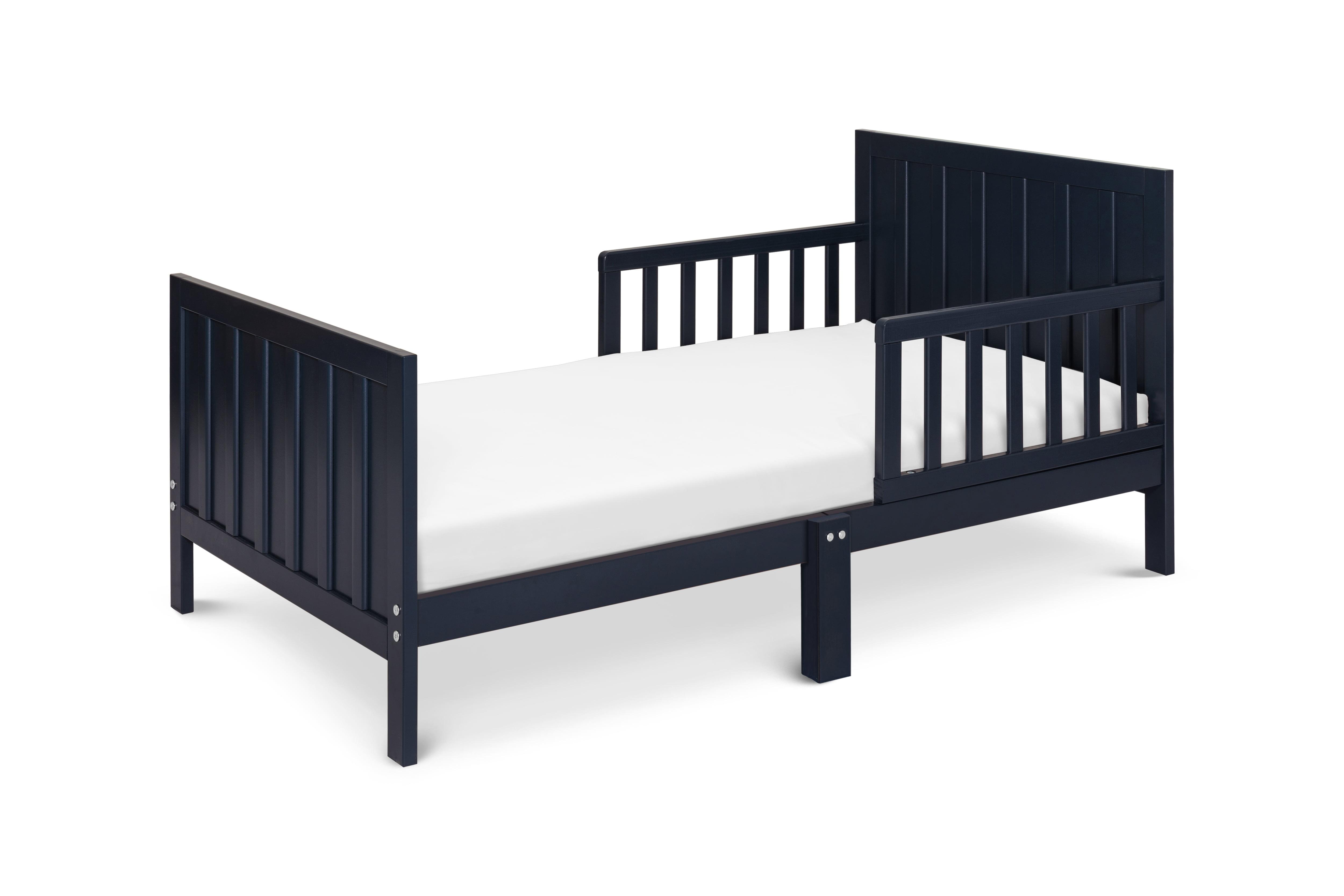 Carter S By Davinci Benji Toddler Bed In Navy Blue Walmart Com Walmart Com