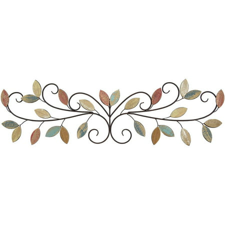 Stratton Home Decor Wood Leaves Over The Door Wall Decor
