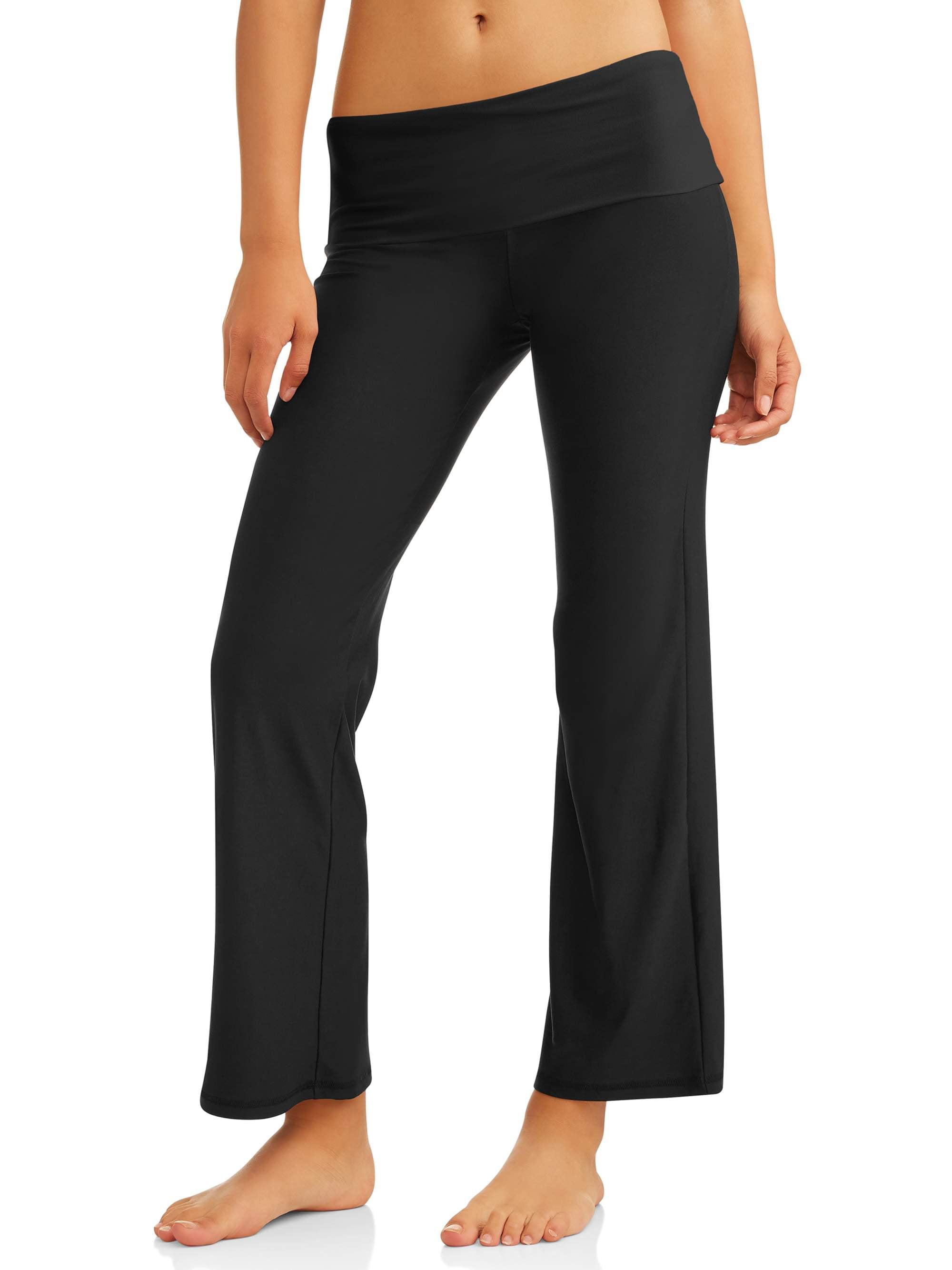 902ca396acab0 No Boundaries Juniors' Flare Yoga Pants (Prints & Solids) – Walmart ...