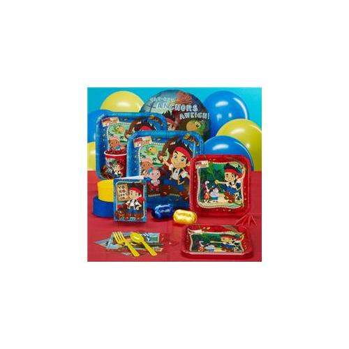 Hallmark Disney Jake And The Never Land Pirates Standard Party Pack