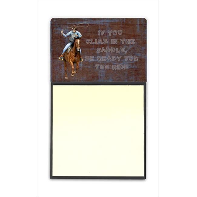 Carolines Treasures SB3061SN Roper Horse Sticky Note Holder SB3061SN, 3 x 3 In. - image 1 of 1