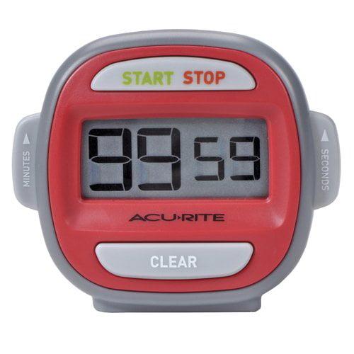 AcuRite Digital Timer, Red